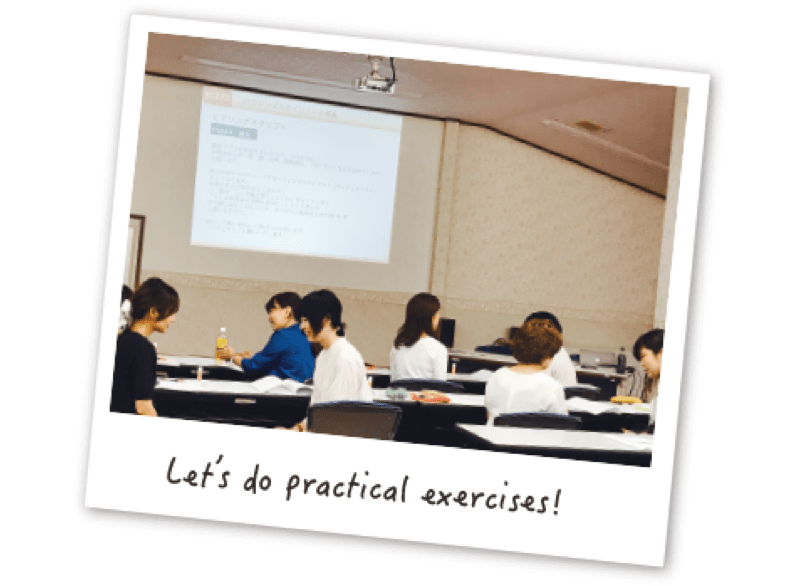 Let's do practical exercises!