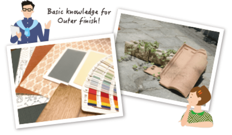 Basic knowledge for Outer finish!